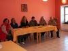 Volební komise ve složení Zdeňka Šebková, Jana Pazdírková, Libuše Pazdírková, Tatiana Koudelková, Helena Valouchová a Josef Sedláček
