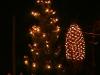 Vánoční stromeček v obci.